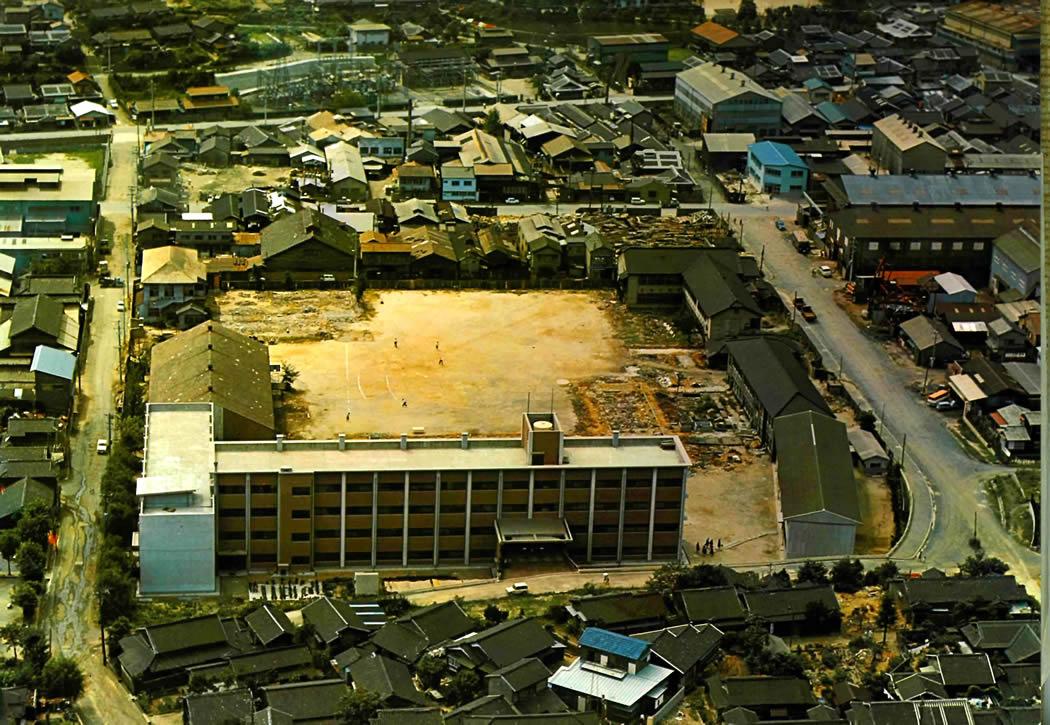 1967年校舎空撮